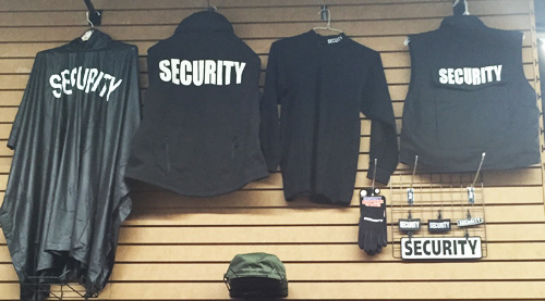 Security Vests, Security Ponchos