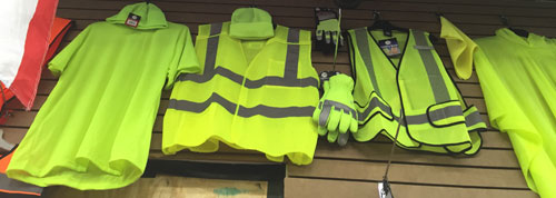 High Visibility T-Shirts, Vests, Hats, Gloves