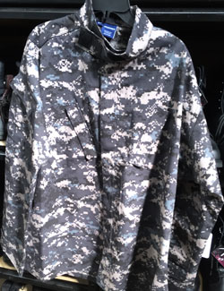 Digital Subdued Urban Camouflage ACU Shirt