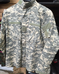 ACU Digital Camouflage Army Combat Uniform Shirt